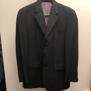 Men's Ralph Lauren Blue Label Black Suit Jacket